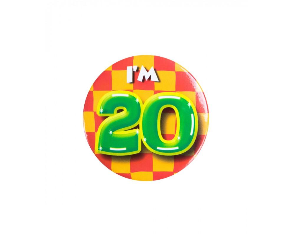 Button 20 jaar