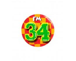 Button 34 jaar
