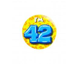 Button 42 jaar