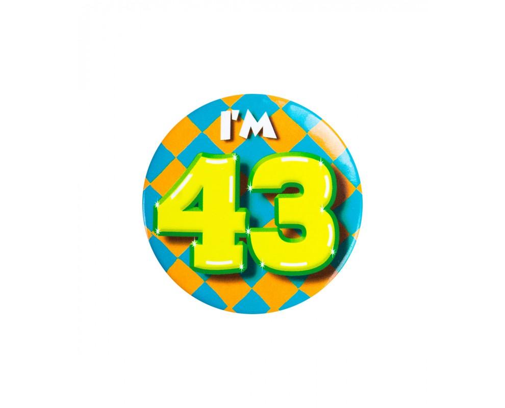 Button 43 jaar