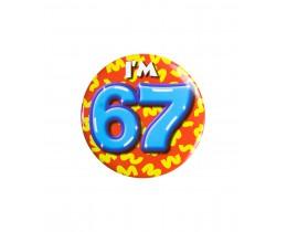 Button 67 jaar