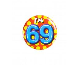 Button 69 jaar