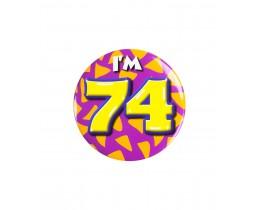 Button 74 jaar
