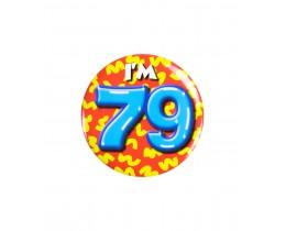 Button 79 jaar