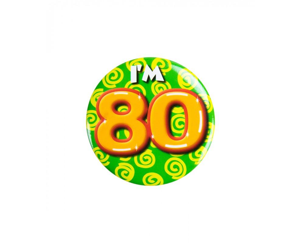Button 80 jaar