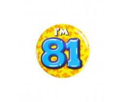 Button 81 jaar