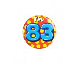 Button 83 jaar