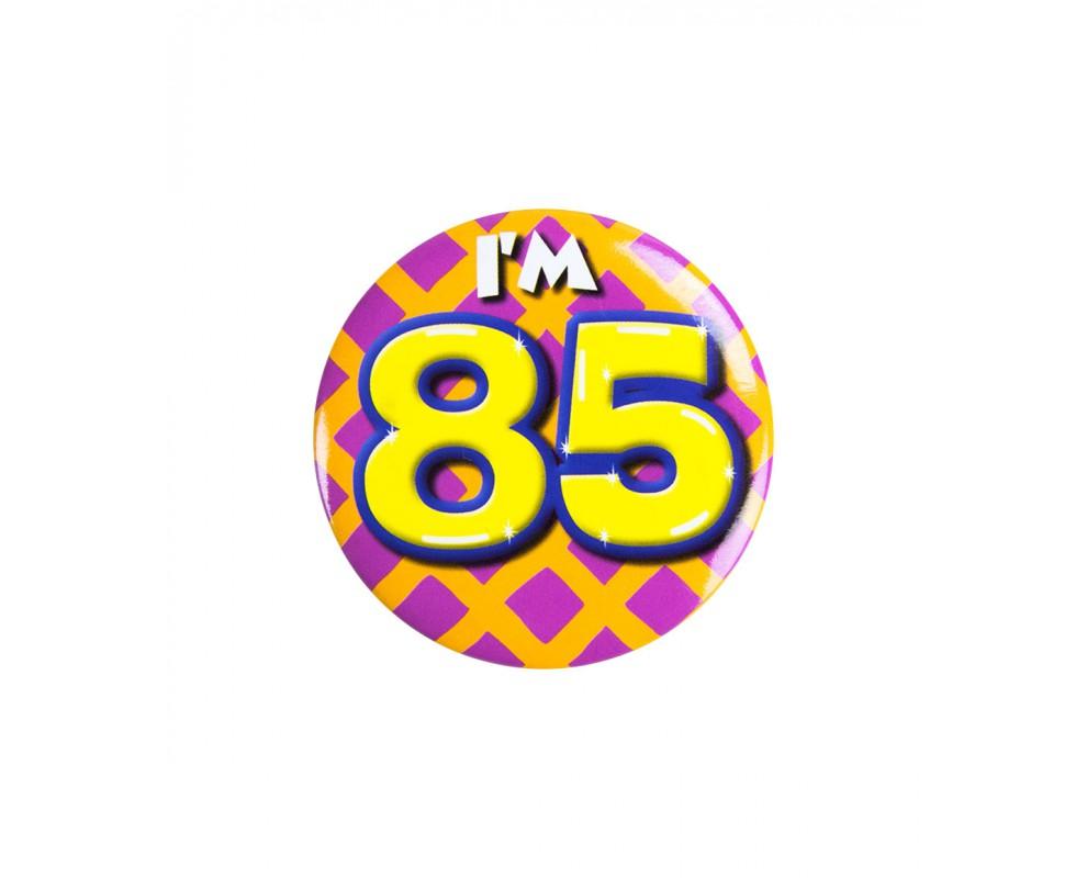 Button 85 jaar