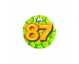 Button 87 jaar