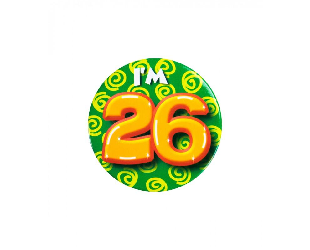 Button 26 jaar
