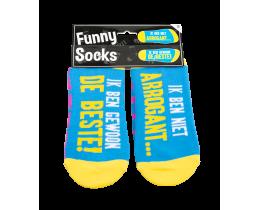 Funny Socks Arrogant