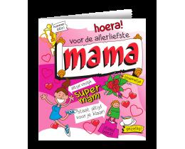 Wenskaart Mama Cartoon