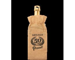 Bottle Gift Bag 50 jaar