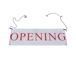 Banner Opening