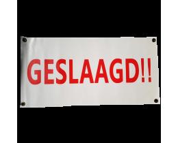 Banner Geslaagd