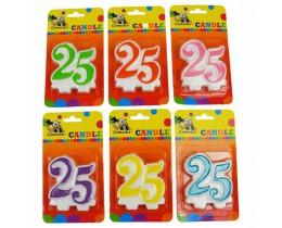 Nummerkaars 25