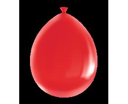 Ballonnen Metallic robijn rood 30cm