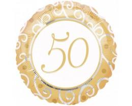 Folie ballon 50 huwelijk