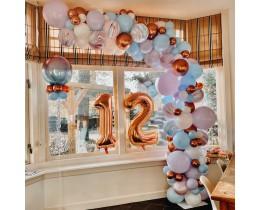Organic Ballonnen decoratie (per meter)