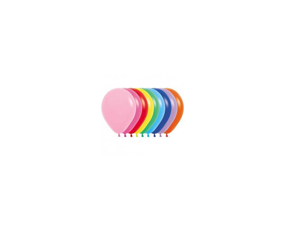 Ballon Fashion assortiment 12cm