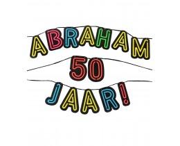 Neon Letterslinger Abraham