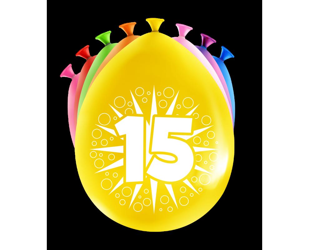 Ballonnen 15 jaar