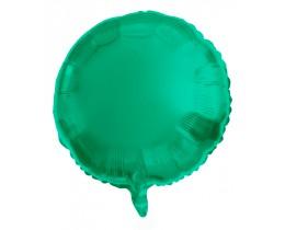 Folie ballon mat Groen rond