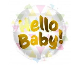 Folieballon Hello Baby