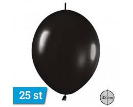 Link o loon ballonnen zwart