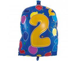 Folieballon cijfer2b