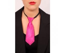 Mini stropdas pink